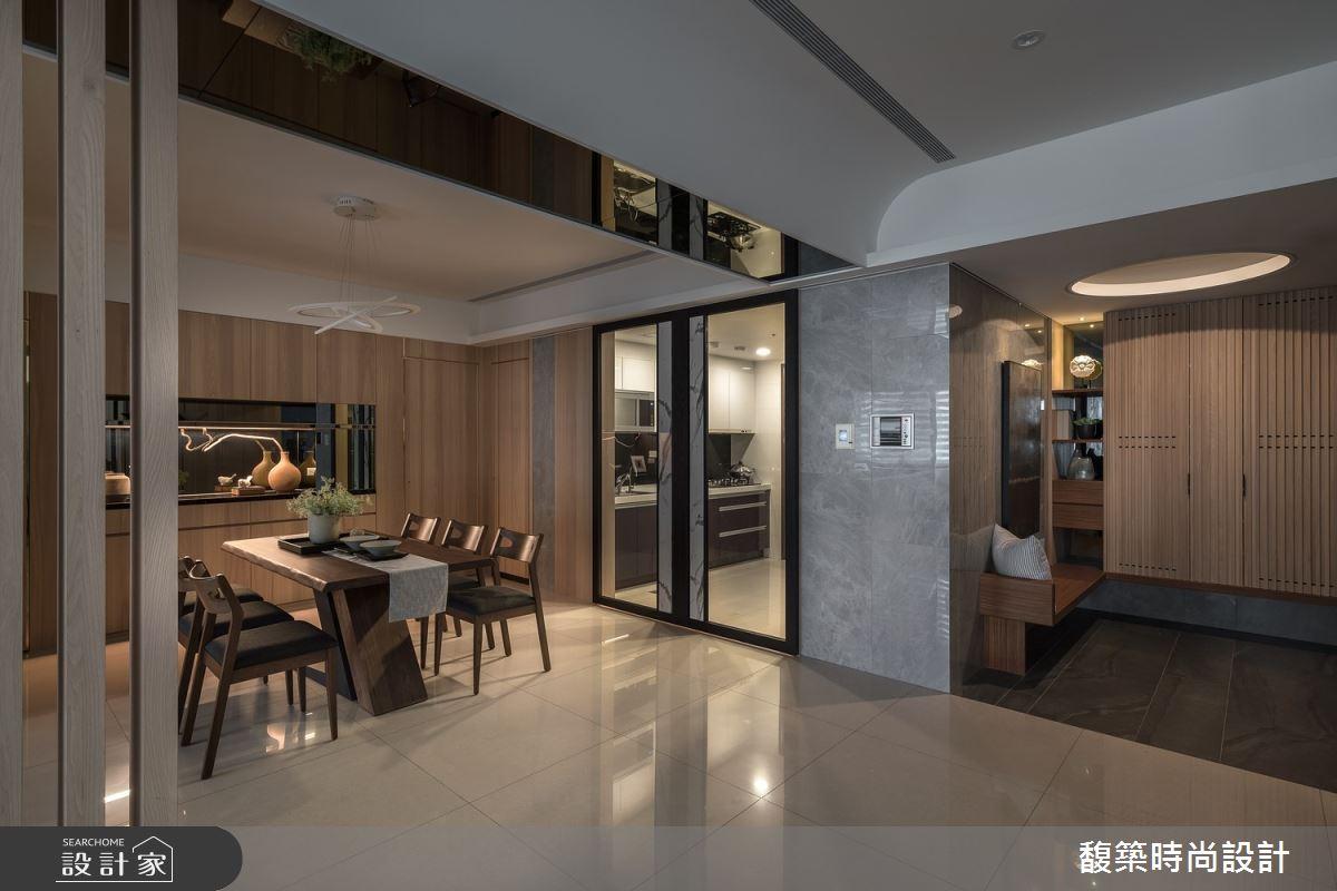 50坪新成屋(5年以下)_現代風餐廳案例圖片_馥築時尚設計_馥築_27之1