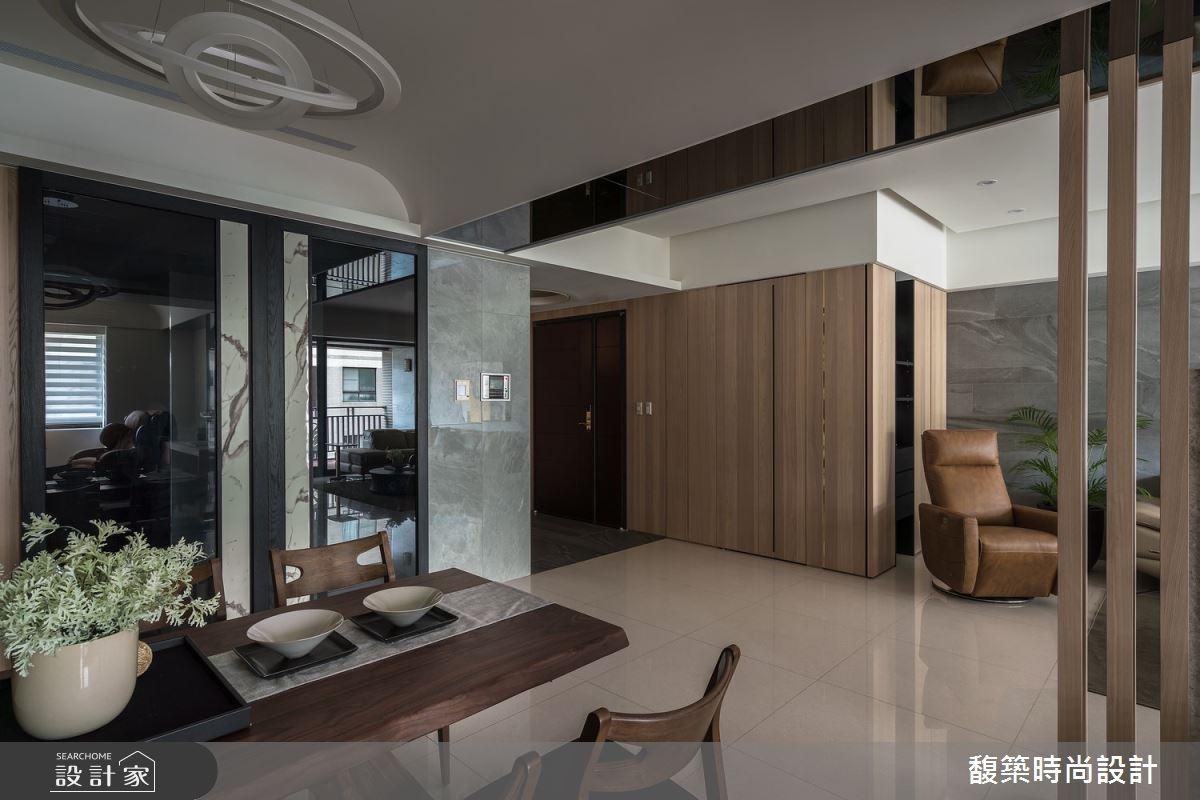 50坪新成屋(5年以下)_現代風餐廳案例圖片_馥築時尚設計_馥築_27之2