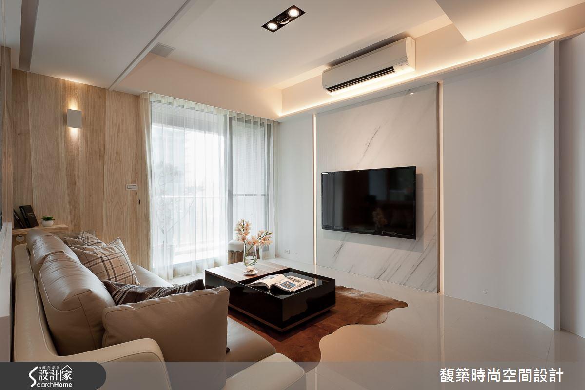 現代風 3 人小家庭  25 坪打造優雅時尚美宅