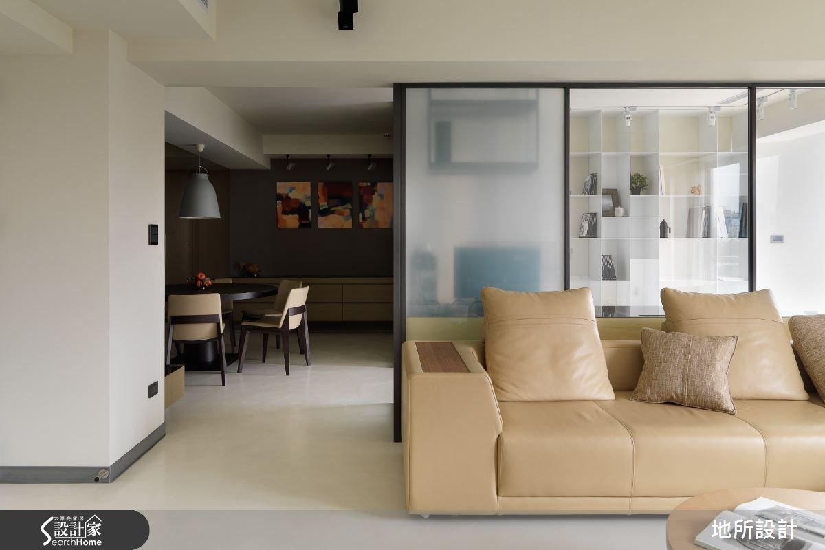 45坪老屋(16~30年)_現代風客廳案例圖片_地所設計有限公司_地所_05之3