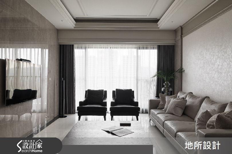 46坪_現代風客廳案例圖片_地所設計有限公司_地所_06之2