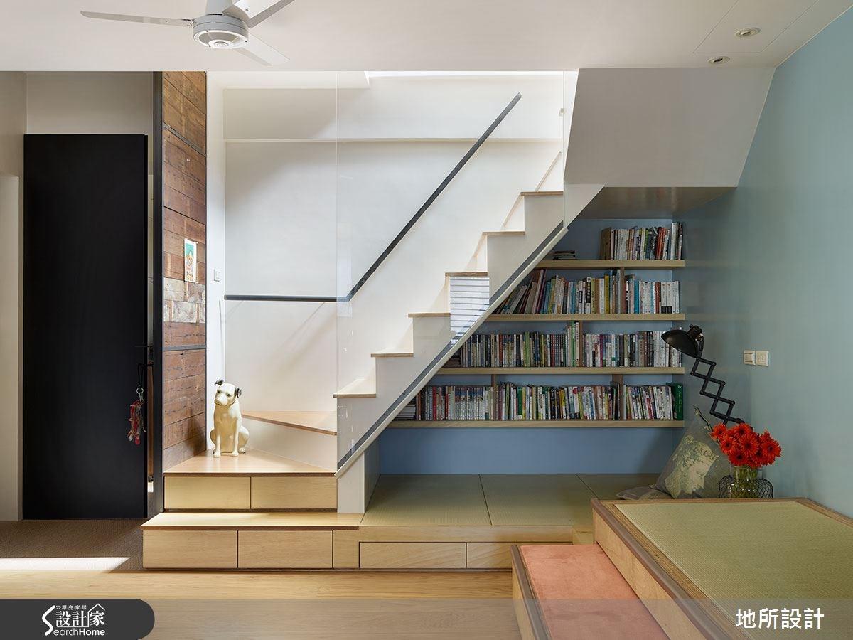 43坪老屋(16~30年)_混搭風臥榻樓梯案例圖片_地所設計有限公司_地所_08之3