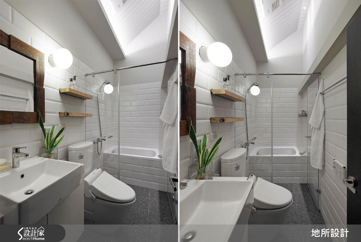 30坪老屋(16~30年)_現代風浴室案例圖片_地所設計有限公司_地所_09之11