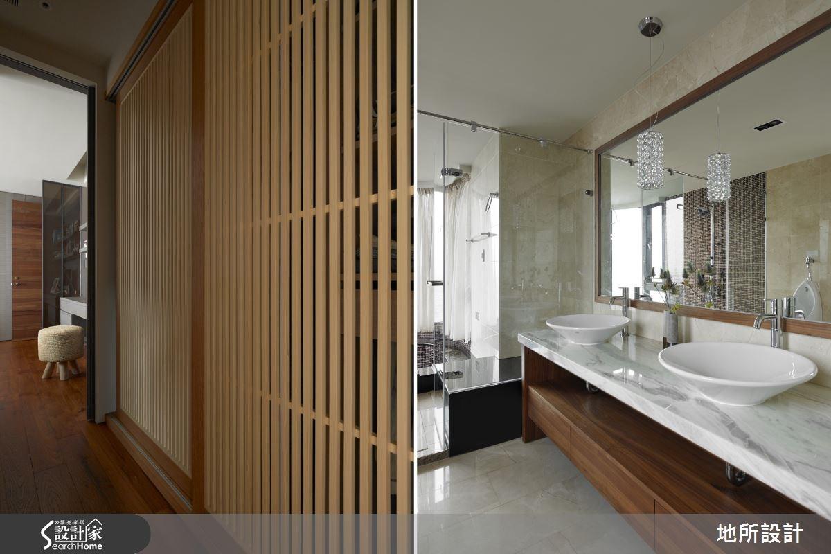 65坪_新中式風浴室案例圖片_地所設計有限公司_地所_16之12