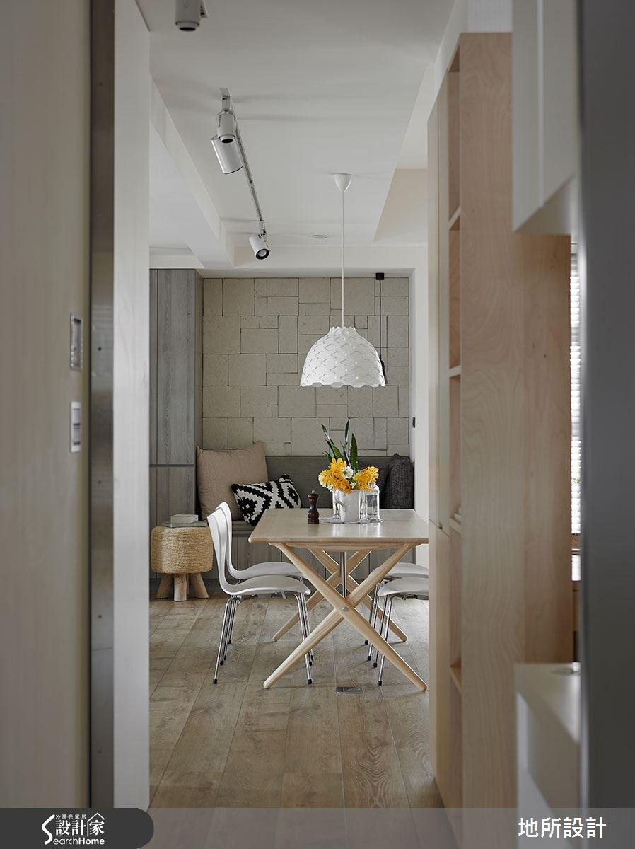 40坪新成屋(5年以下)_混搭風餐廳案例圖片_地所設計有限公司_地所_17之9