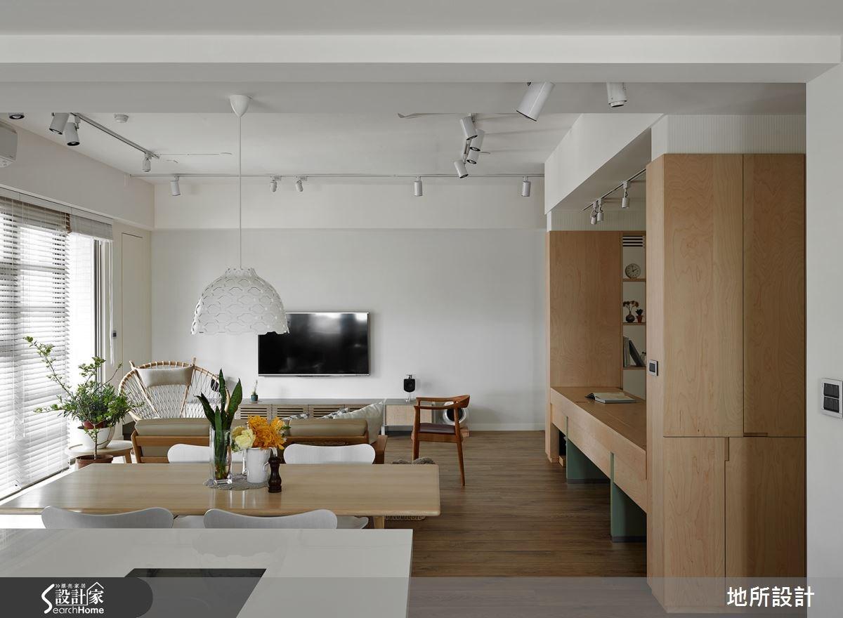 40坪新成屋(5年以下)_混搭風客廳餐廳案例圖片_地所設計有限公司_地所_17之10