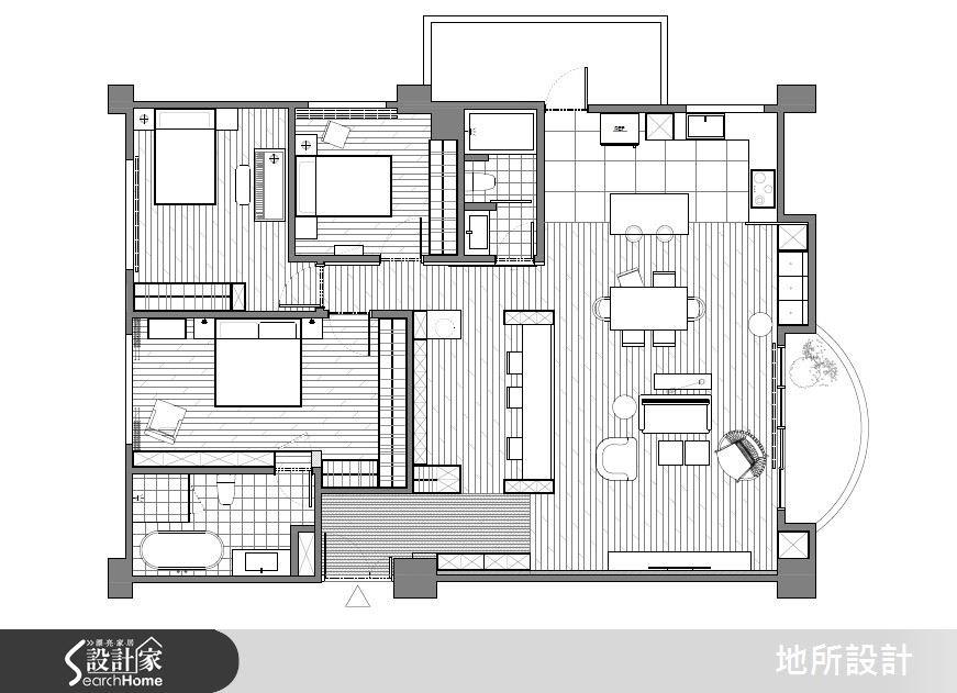 40坪新成屋(5年以下)_混搭風案例圖片_地所設計有限公司_地所_17之22