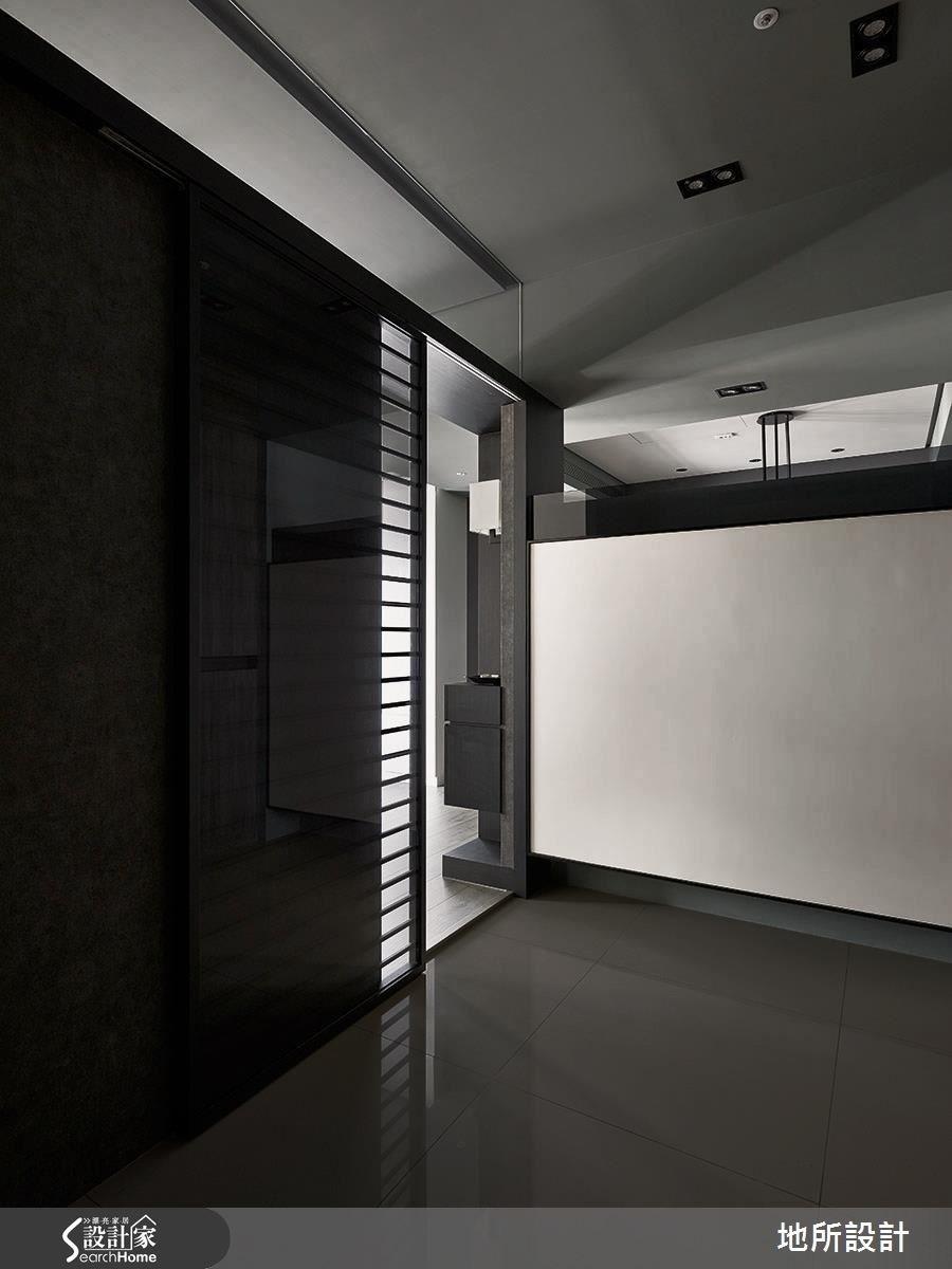 50坪新成屋(5年以下)_現代風玄關案例圖片_地所設計有限公司_地所_20之1