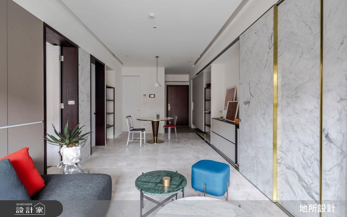 27坪新成屋(5年以下)_現代風客廳餐廳案例圖片_地所設計有限公司_地所_23之2