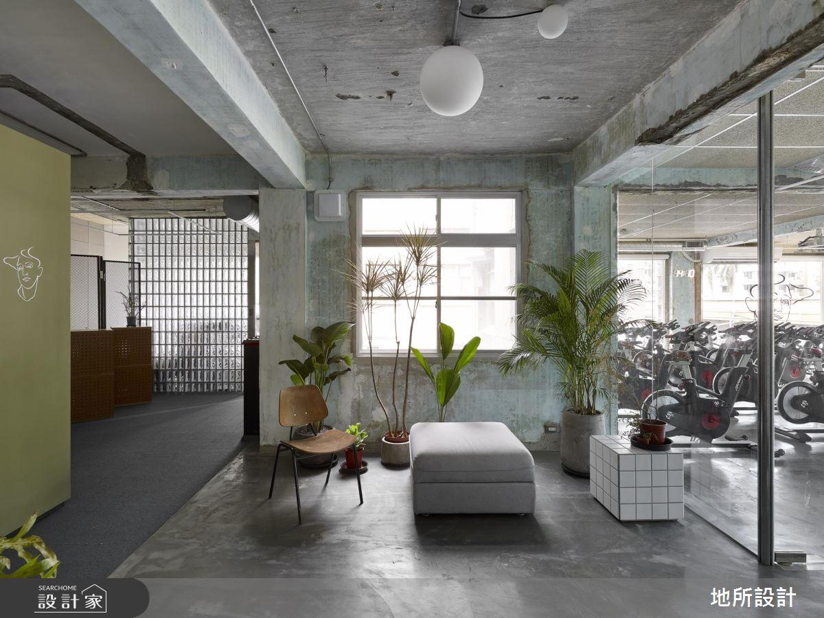文青也愛上的新潮健身房!老屋x綠植活力好設計