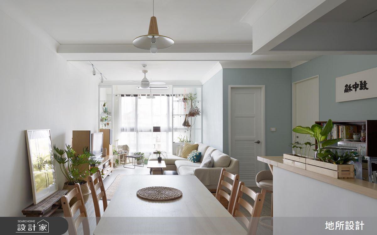 20坪新成屋(5年以下)_北歐風餐廳案例圖片_地所設計有限公司_地所_28之4