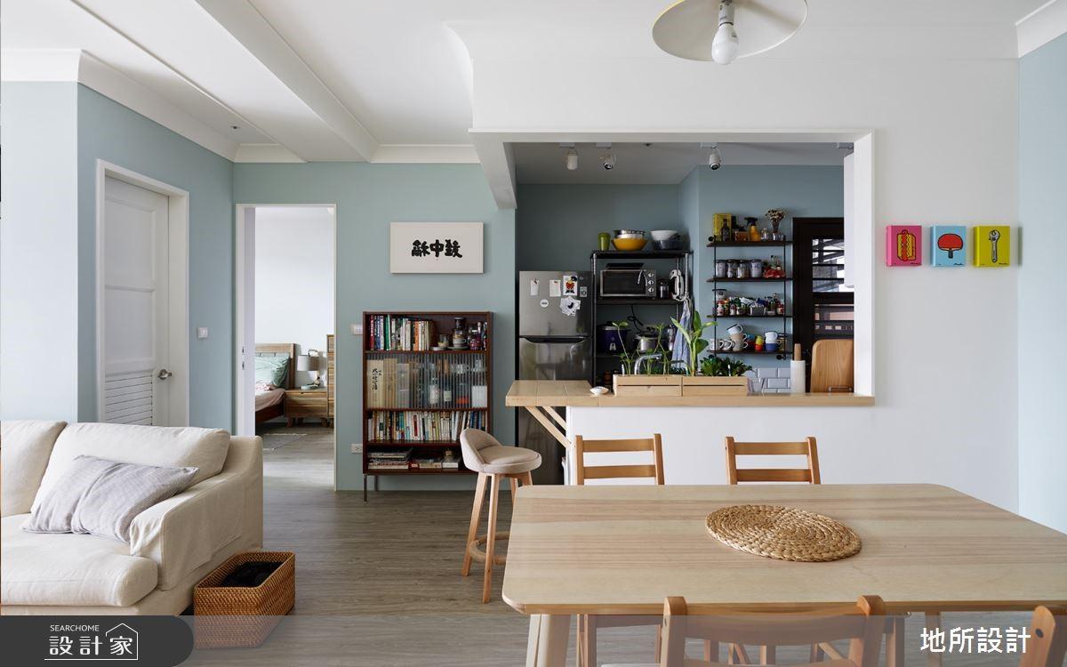 20坪新成屋(5年以下)_北歐風餐廳案例圖片_地所設計有限公司_地所_28之2