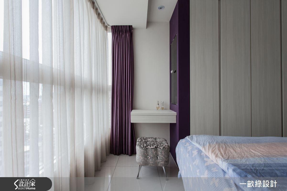 28坪新成屋(5年以下)_現代風臥室案例圖片_一畝綠設計_一畝綠_03之12