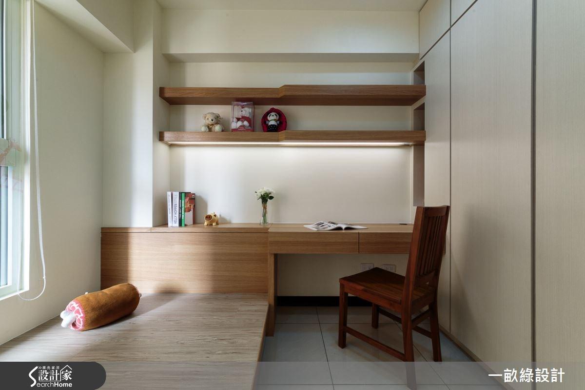 28坪新成屋(5年以下)_現代風臥室案例圖片_一畝綠設計_一畝綠_01之9