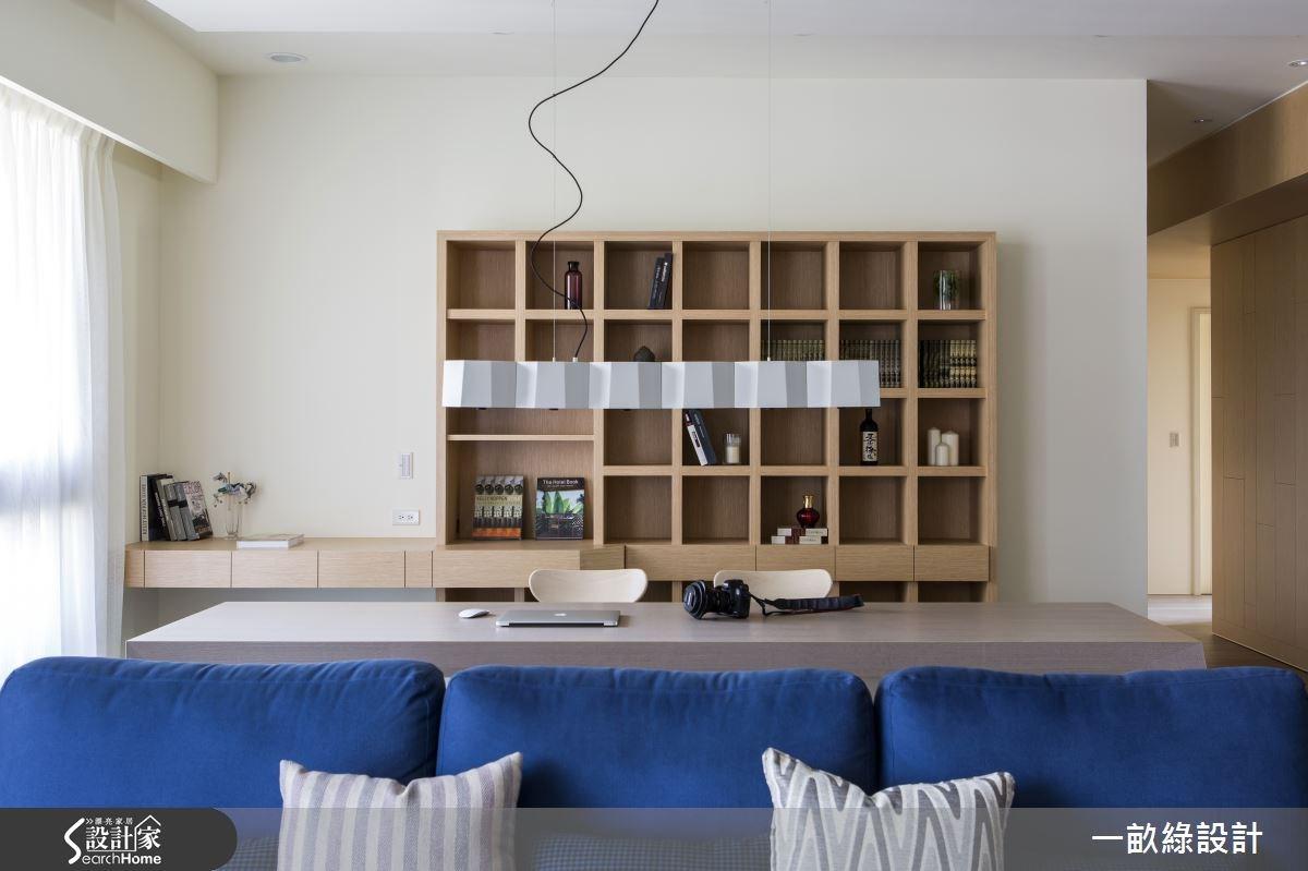 35坪新成屋(5年以下)_現代風客廳案例圖片_一畝綠設計_一畝綠_08之3