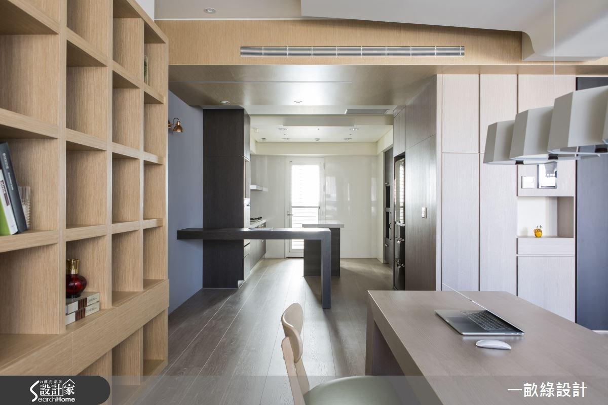 35坪新成屋(5年以下)_現代風餐廳案例圖片_一畝綠設計_一畝綠_08之4