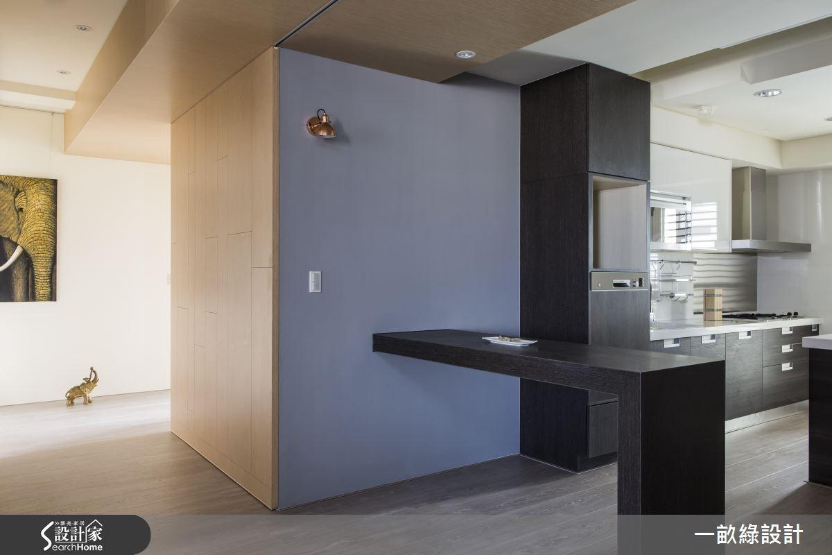 35坪新成屋(5年以下)_現代風餐廳廚房案例圖片_一畝綠設計_一畝綠_08之5