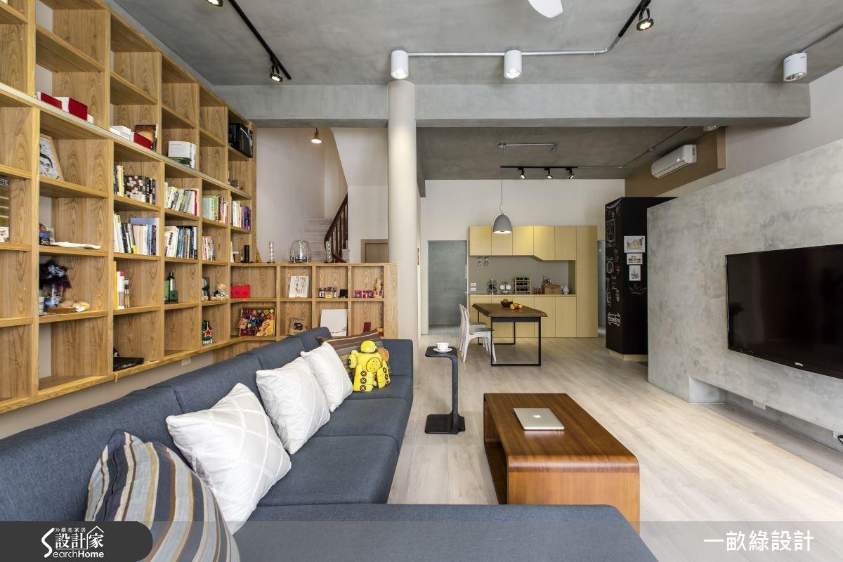 35坪老屋(16~30年)_現代風案例圖片_一畝綠設計_一畝綠_09之3
