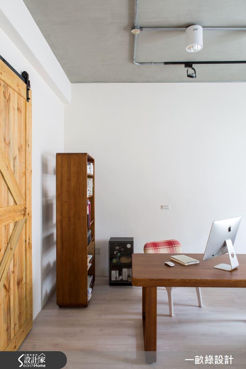 35坪老屋(16~30年)_現代風書房案例圖片_一畝綠設計_一畝綠_09之8
