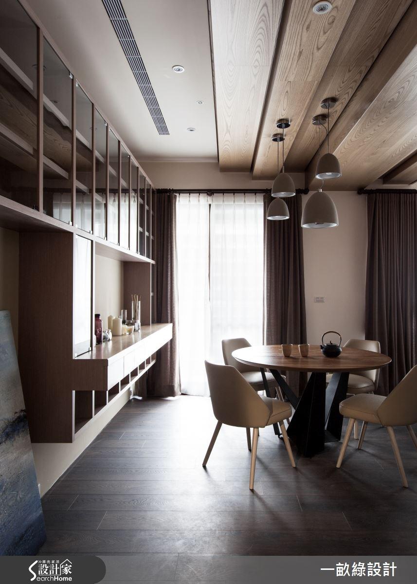 40坪新成屋(5年以下)_現代風餐廳案例圖片_一畝綠設計_一畝綠_12之4