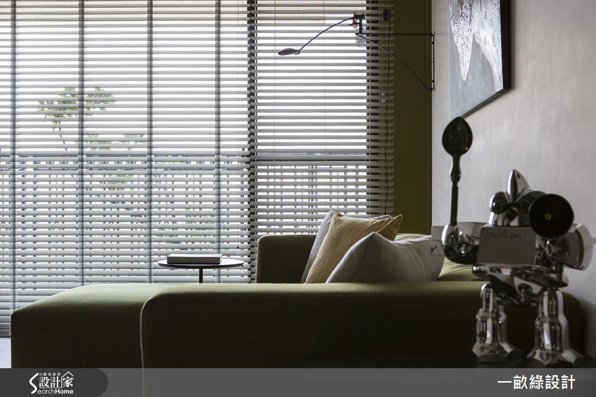 30坪新成屋(5年以下)_現代風客廳案例圖片_一畝綠設計_一畝綠_13之4