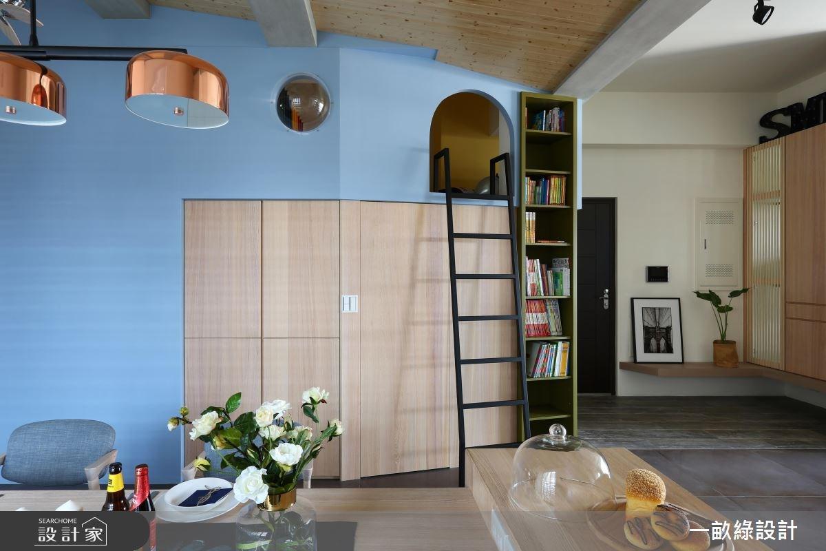 40坪新成屋(5年以下)_現代風案例圖片_一畝綠設計_一畝綠_20之5