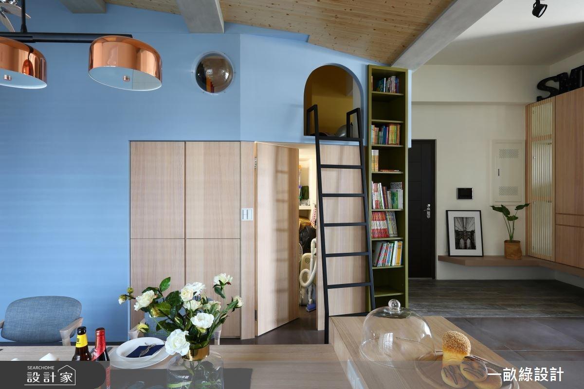 40坪新成屋(5年以下)_現代風案例圖片_一畝綠設計_一畝綠_20之6