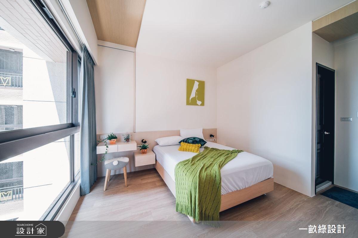 20坪新成屋(5年以下)_現代風臥室案例圖片_一畝綠設計_一畝綠_23之10