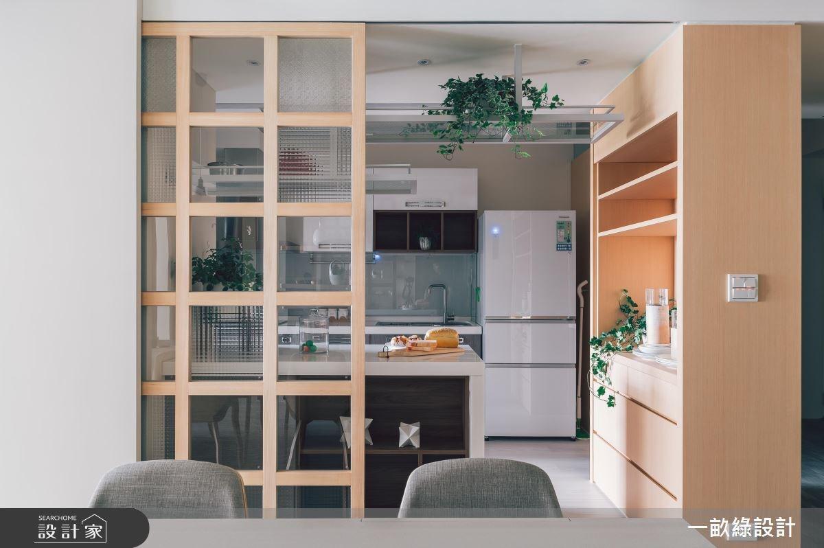 25坪新成屋(5年以下)_現代風廚房案例圖片_一畝綠設計_一畝綠_26之2