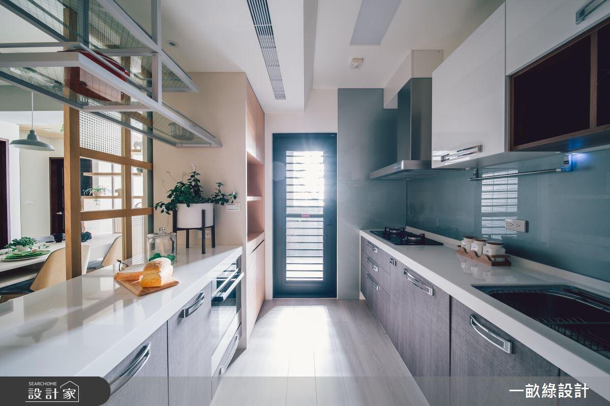 25坪新成屋(5年以下)_現代風廚房案例圖片_一畝綠設計_一畝綠_26之3