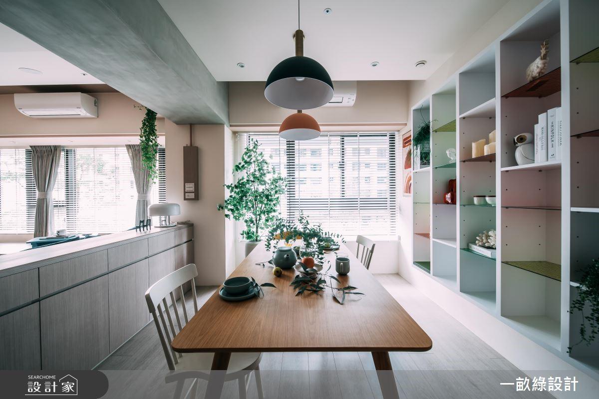 40坪新成屋(5年以下)_休閒風餐廳案例圖片_一畝綠設計_一畝綠_28之5