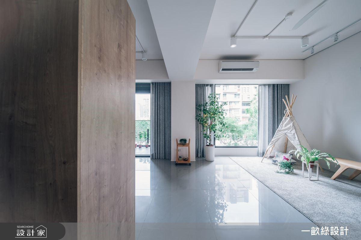 30坪新成屋(5年以下)_休閒風案例圖片_一畝綠設計_一畝綠_31之1