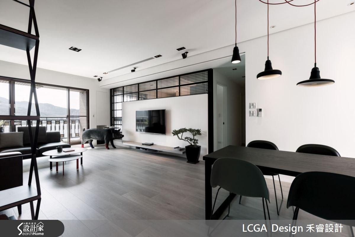 41坪新成屋(5年以下)_工業風案例圖片_LCGA Design 禾睿設計_禾睿(LCGA)_05之3