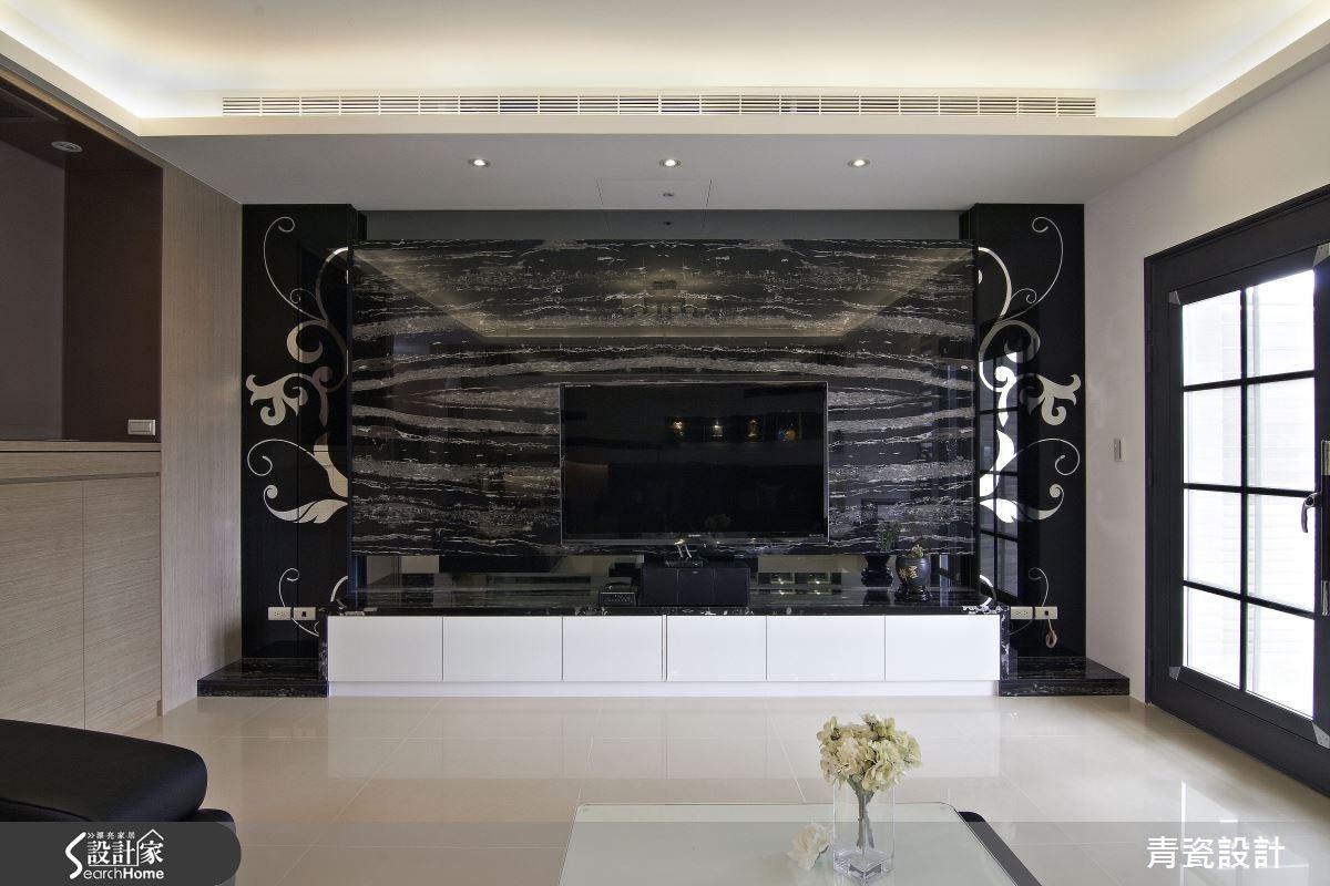 70坪新成屋(5年以下)_現代風客廳案例圖片_青瓷設計工程有限公司_青瓷_03之3