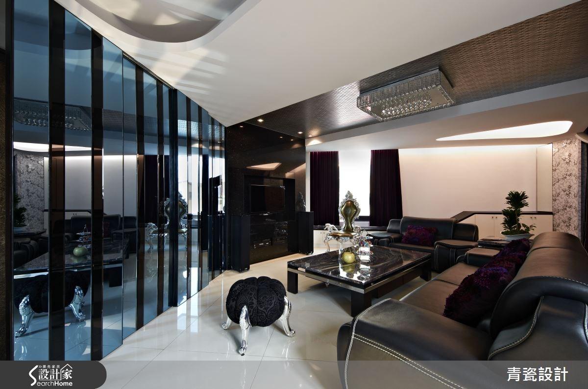 210坪_奢華風客廳案例圖片_青瓷設計工程有限公司_青瓷_06之2