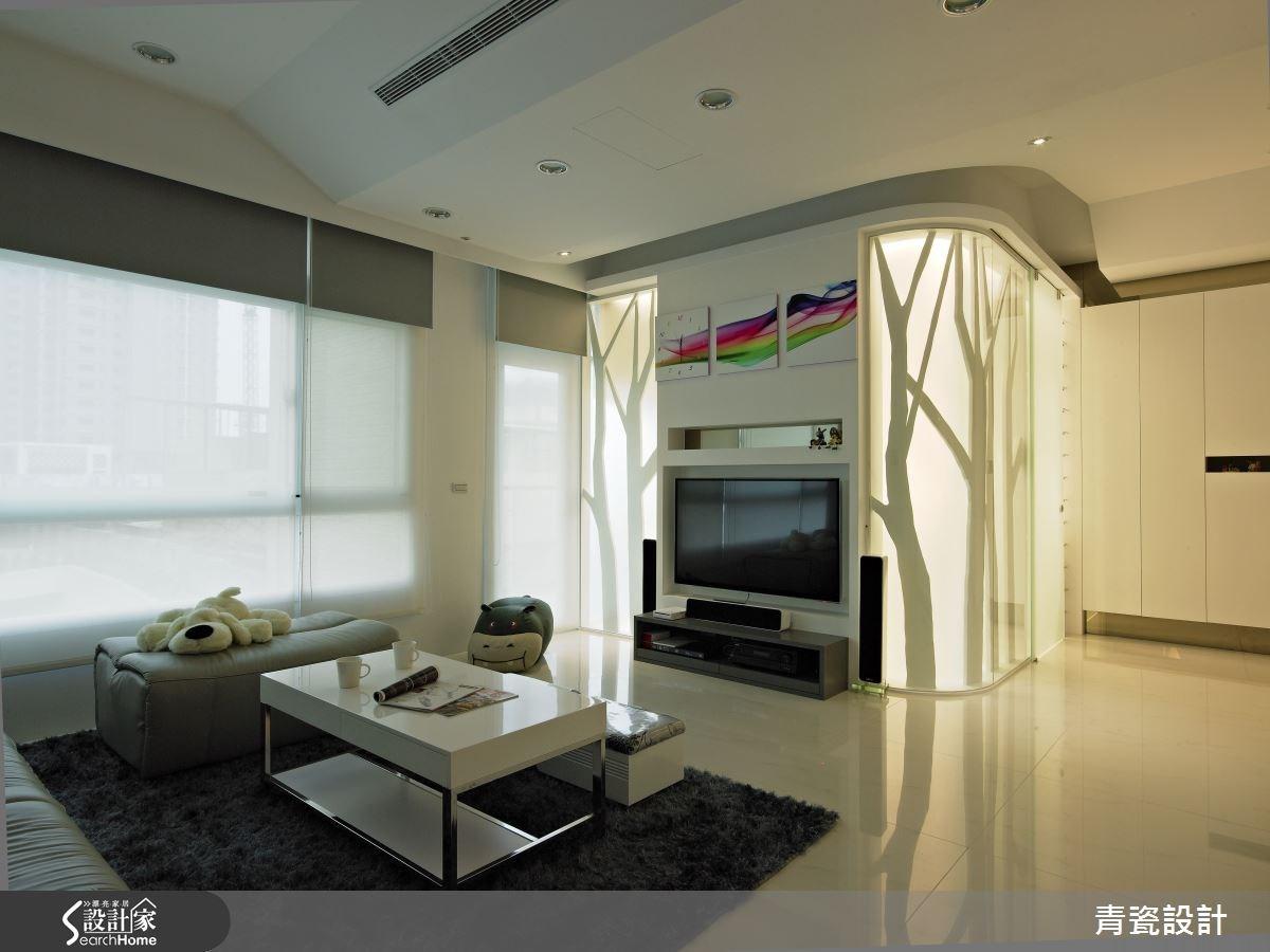 60坪新成屋(5年以下)_混搭風客廳案例圖片_青瓷設計工程有限公司_青瓷_07之3