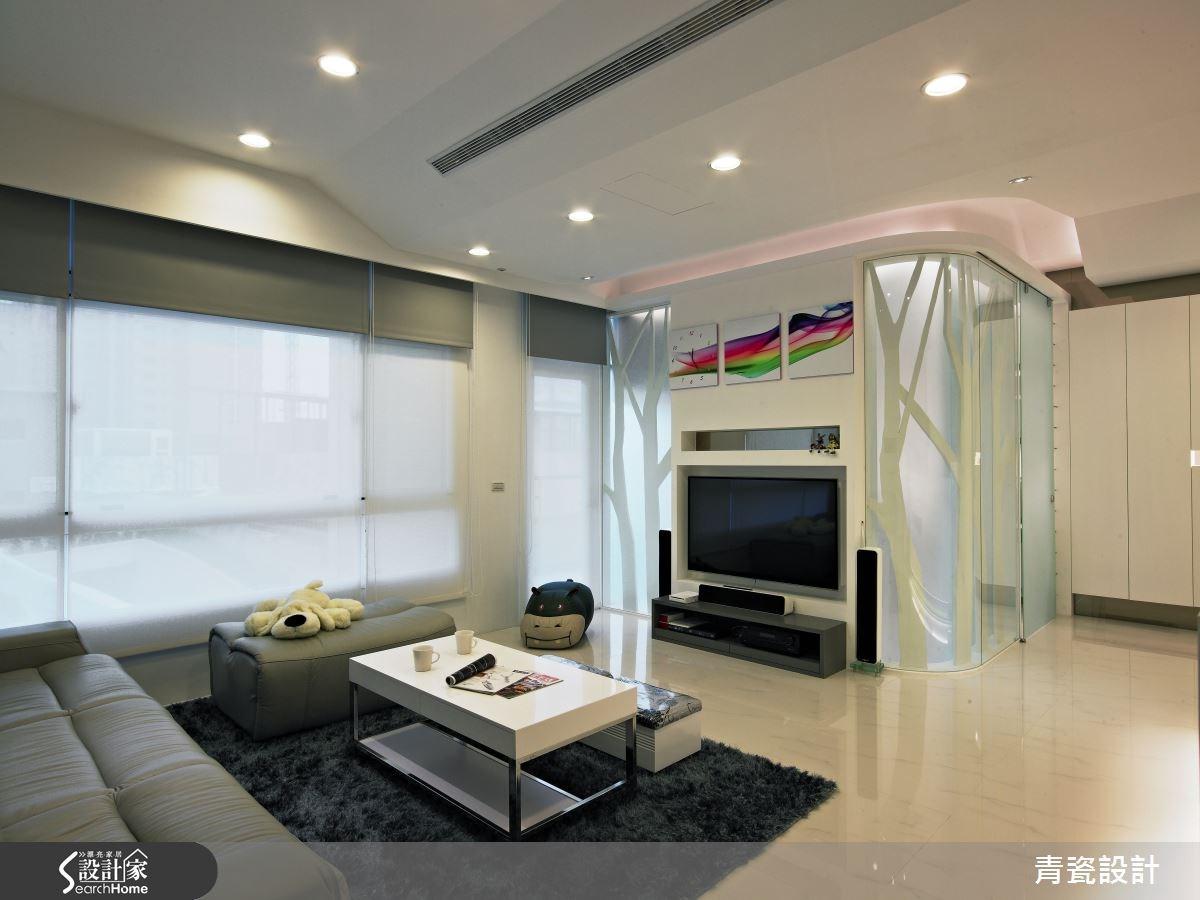 60坪新成屋(5年以下)_混搭風客廳案例圖片_青瓷設計工程有限公司_青瓷_07之4