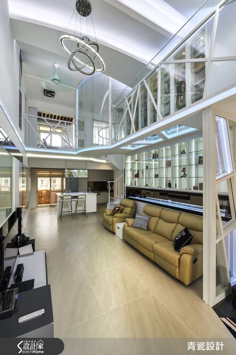 56坪老屋(16~30年)_現代風客廳案例圖片_青瓷設計工程有限公司_青瓷_11之3