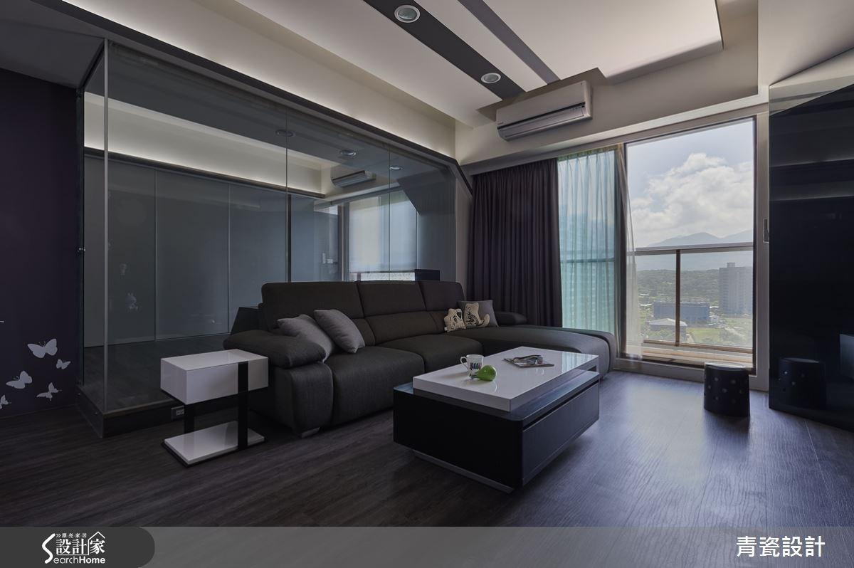 25坪新成屋(5年以下)_現代風客廳案例圖片_青瓷設計工程有限公司_青瓷_12之1