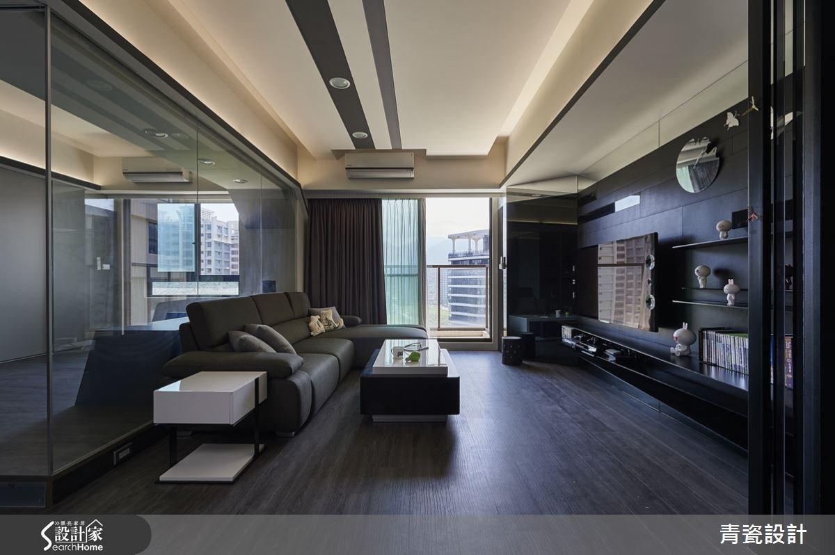 25坪新成屋(5年以下)_現代風客廳案例圖片_青瓷設計工程有限公司_青瓷_12之2