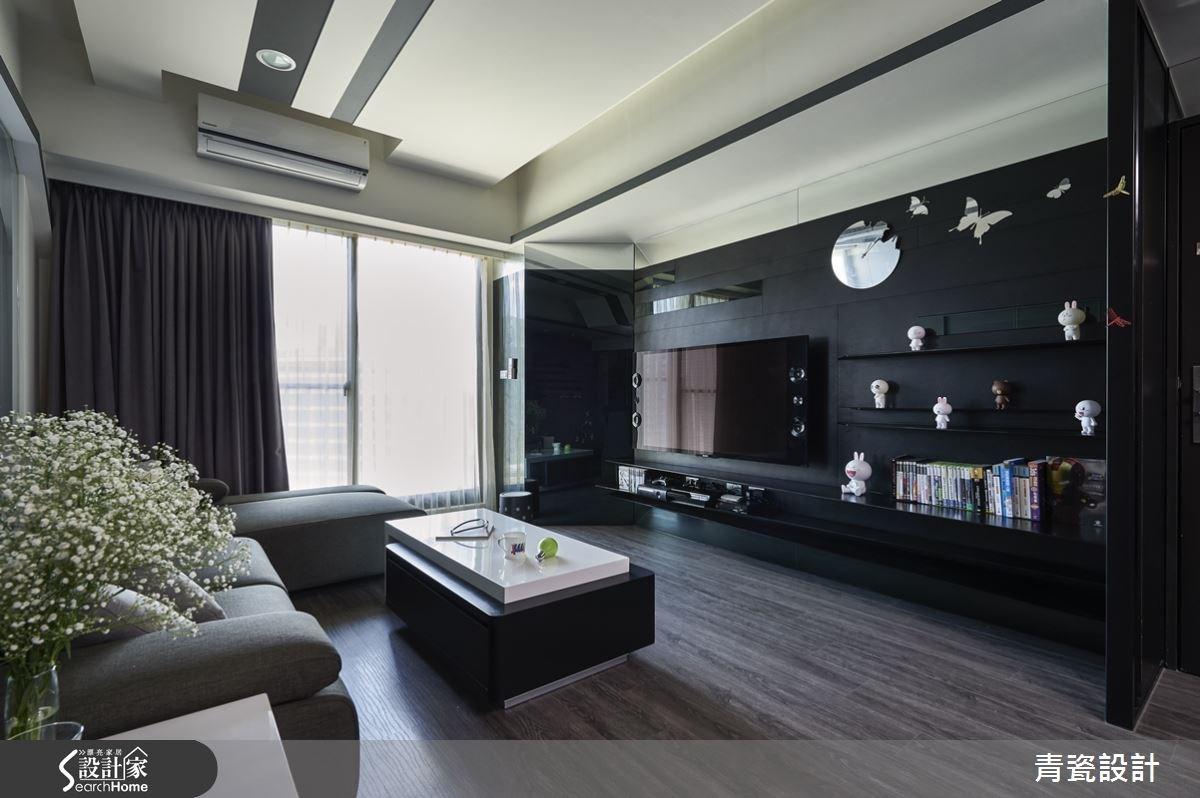 25坪新成屋(5年以下)_現代風客廳案例圖片_青瓷設計工程有限公司_青瓷_12之3