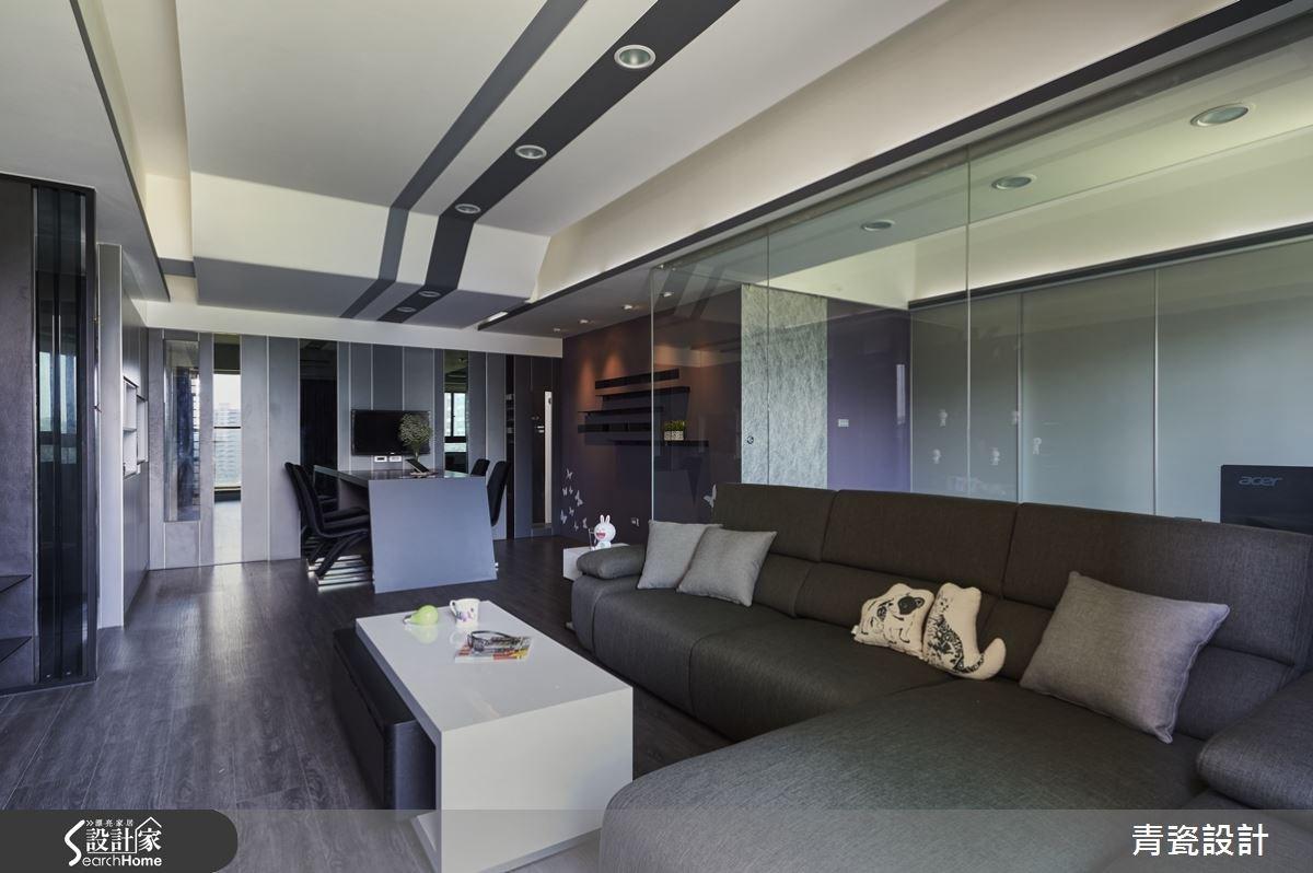 25坪新成屋(5年以下)_現代風客廳案例圖片_青瓷設計工程有限公司_青瓷_12之4