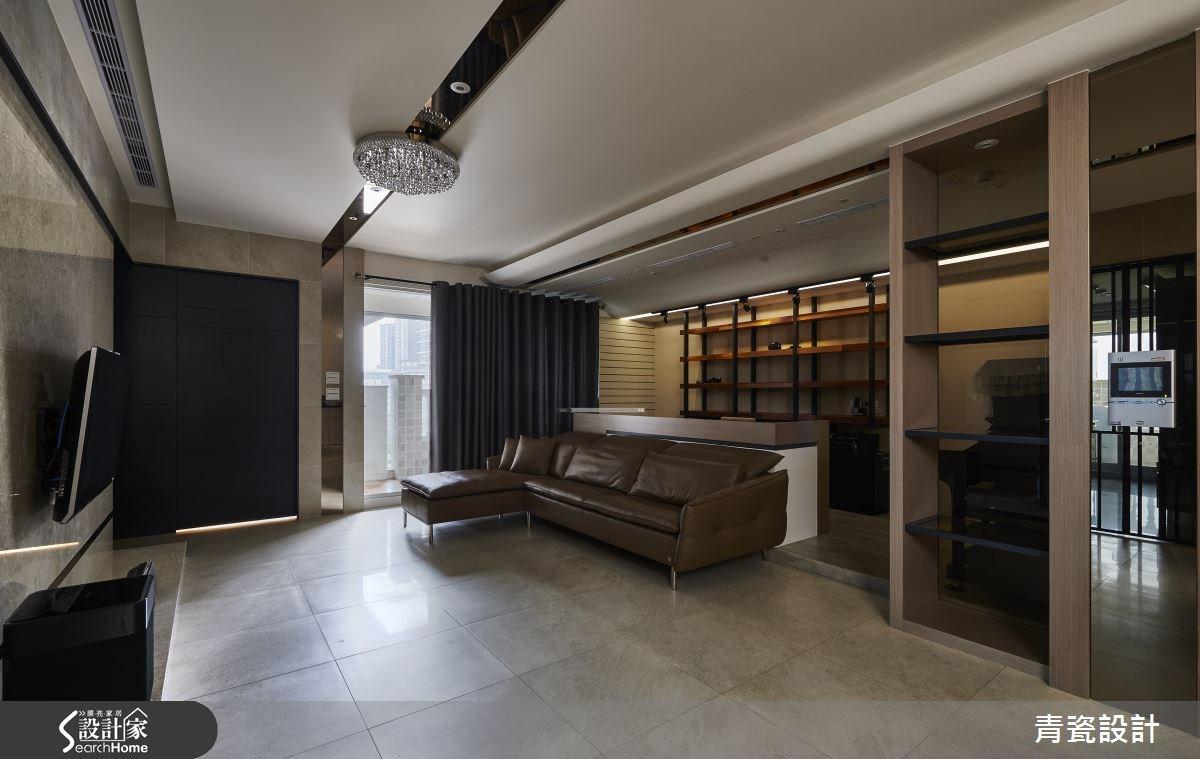 38坪新成屋(5年以下)_現代風客廳案例圖片_青瓷設計工程有限公司_青瓷_13之4