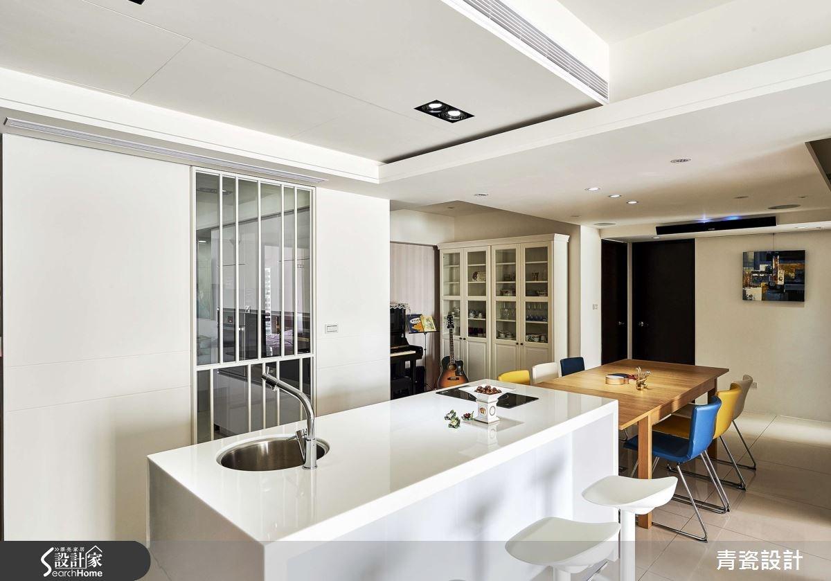 35坪_現代風餐廳吧檯案例圖片_青瓷設計工程有限公司_青瓷_18之8