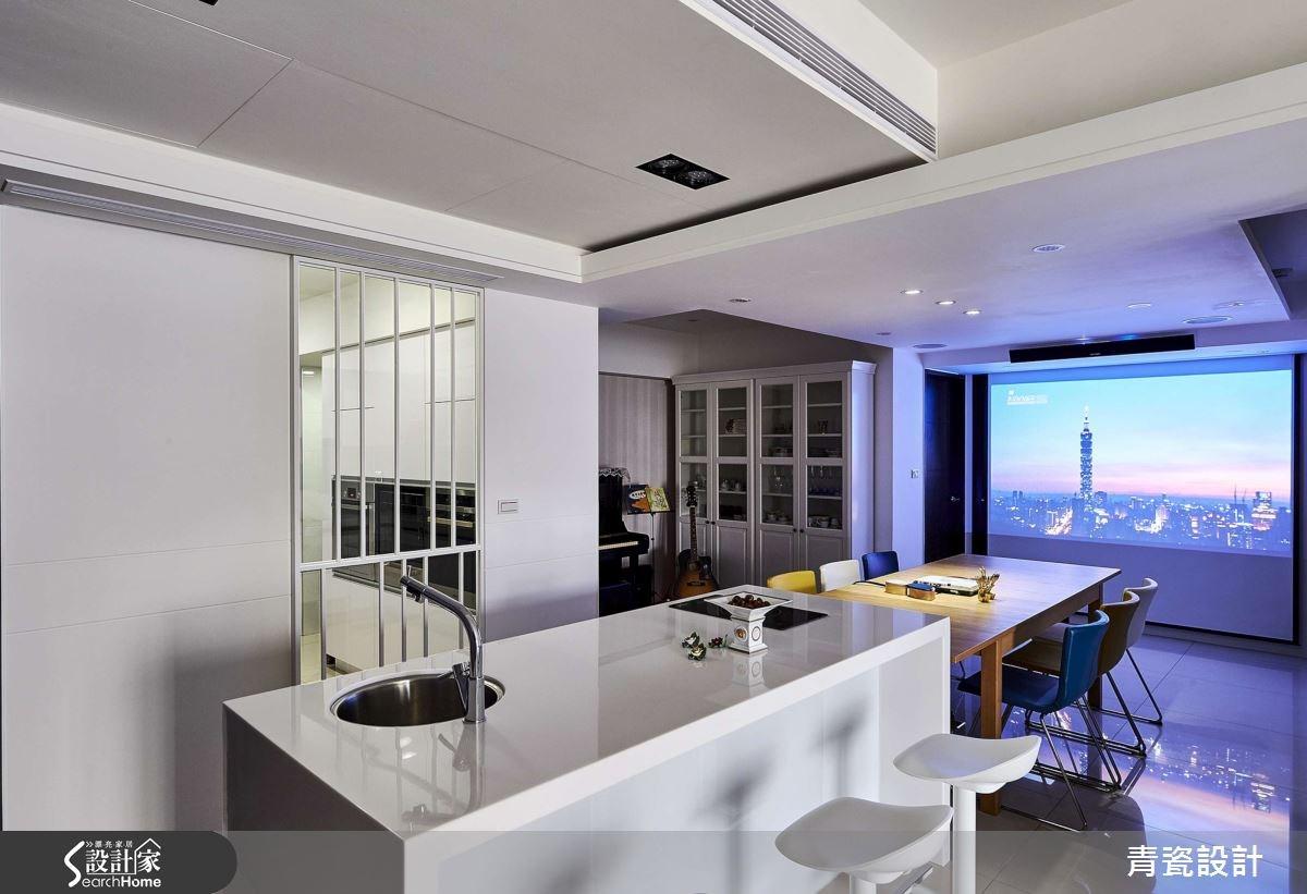 35坪_現代風餐廳吧檯案例圖片_青瓷設計工程有限公司_青瓷_18之13