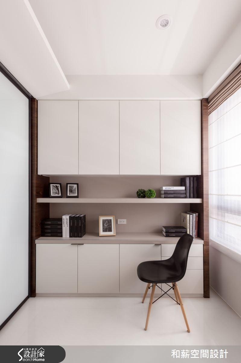 45坪新成屋(5年以下)_混搭風案例圖片_和薪室內裝修設計有限公司_和薪_03之11