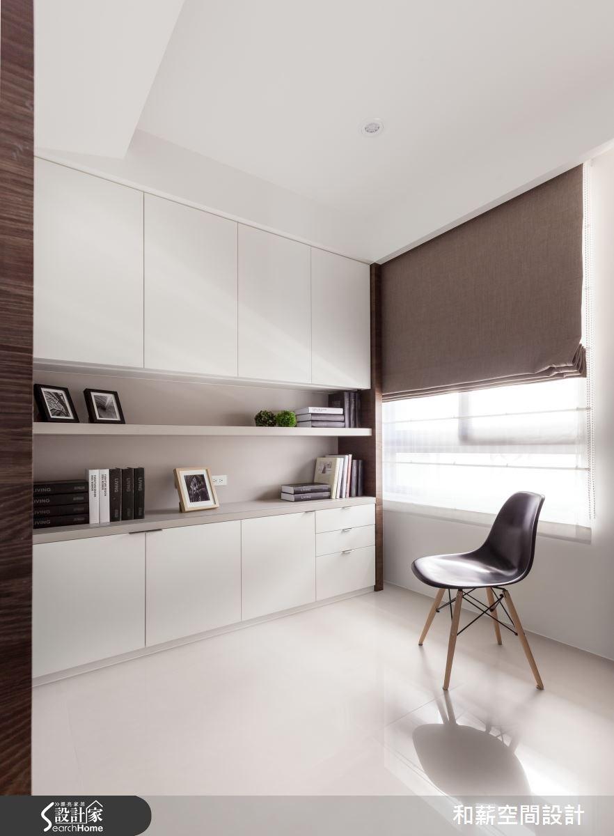 45坪新成屋(5年以下)_混搭風案例圖片_和薪室內裝修設計有限公司_和薪_03之12