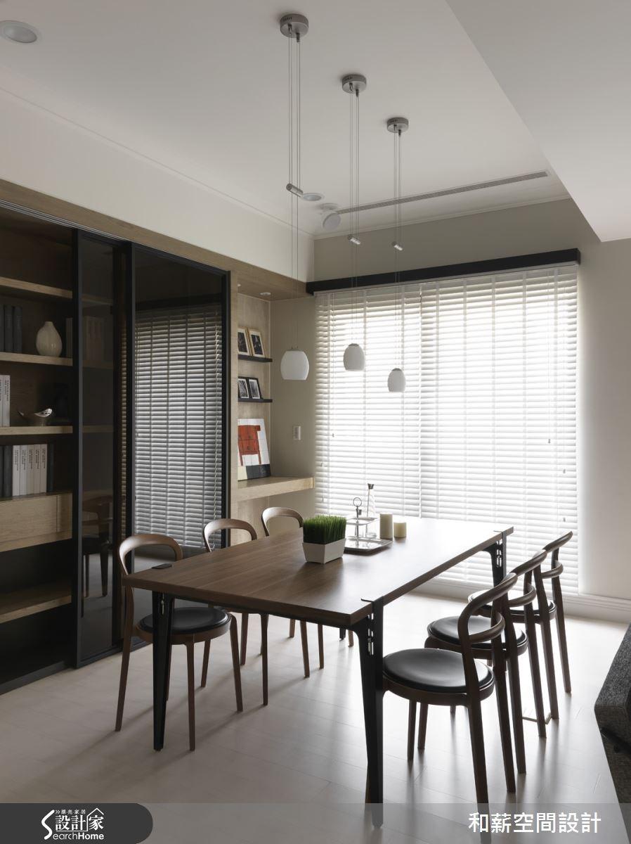 46坪新成屋(5年以下)_混搭風餐廳案例圖片_和薪室內裝修設計有限公司_和薪_07之4