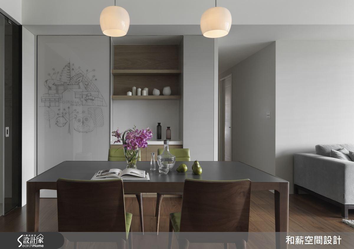 42坪新成屋(5年以下)_混搭風餐廳案例圖片_和薪室內裝修設計有限公司_和薪_08之5