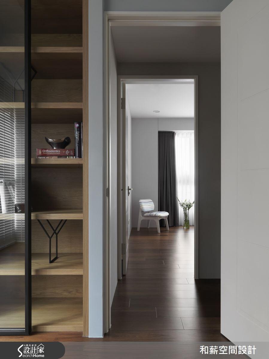 42坪新成屋(5年以下)_混搭風走廊案例圖片_和薪室內裝修設計有限公司_和薪_08之11